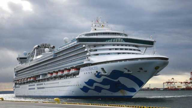 Un italiano positivo al coronavirus a bordo della Diamond Princess